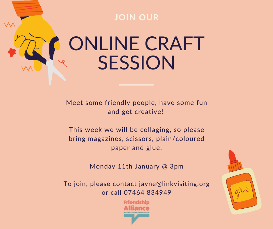 Free: Online Craft session - Collage